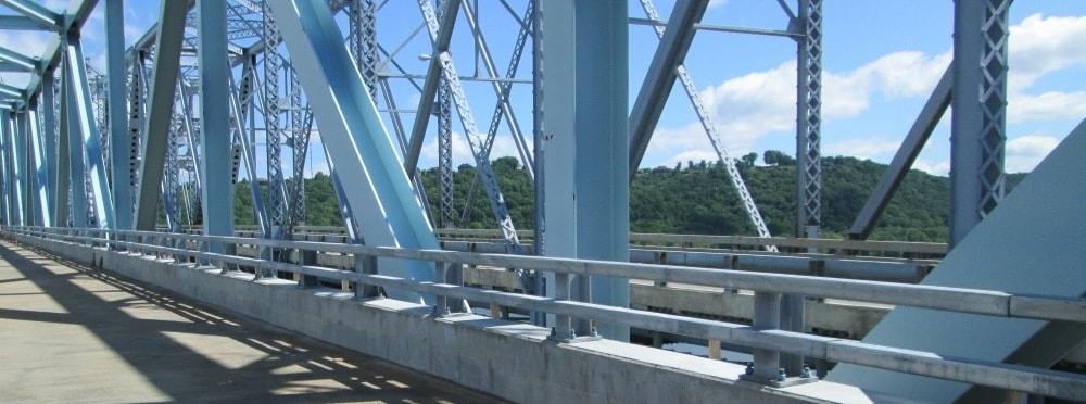 Bridge Rail Fabrication 1